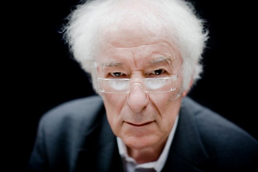 Irish poet, writer and lecturer Seamus Heaney